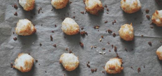 kokosmakronen uit de oven