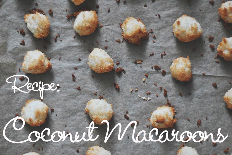 kokosmakronen uit de oven Text EN