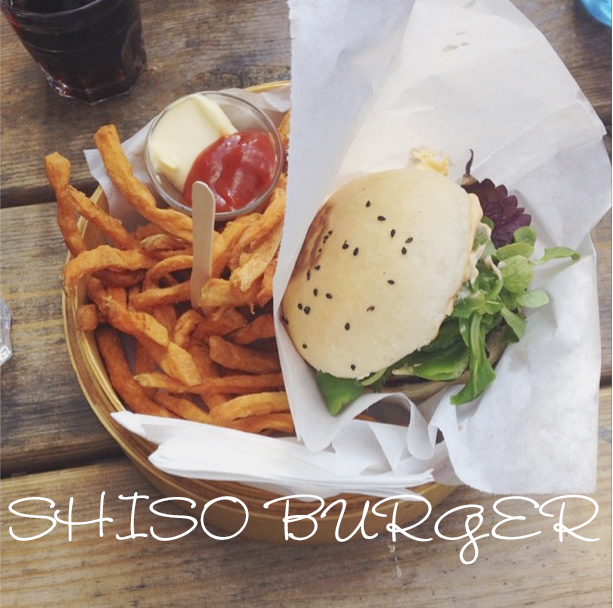 Shiso Burger Text