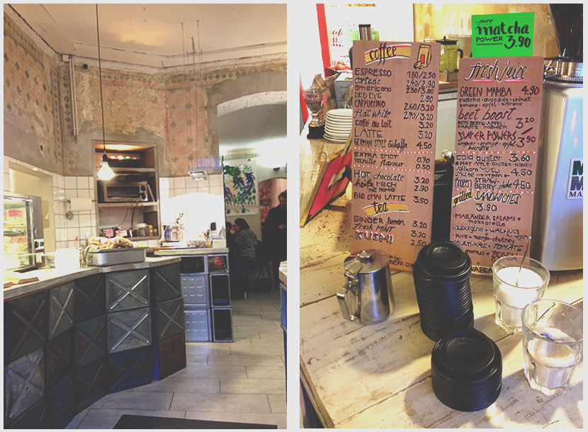 Counter and interior Nothaft Seidel Cafe Berlin Prenzlauerberg