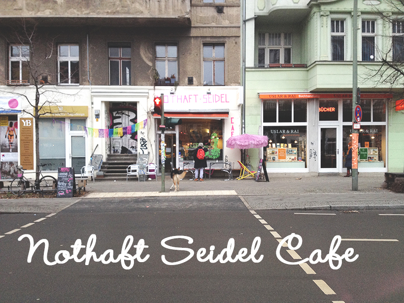 Cafe Nothaft & Seidel Exterior shot Berlin