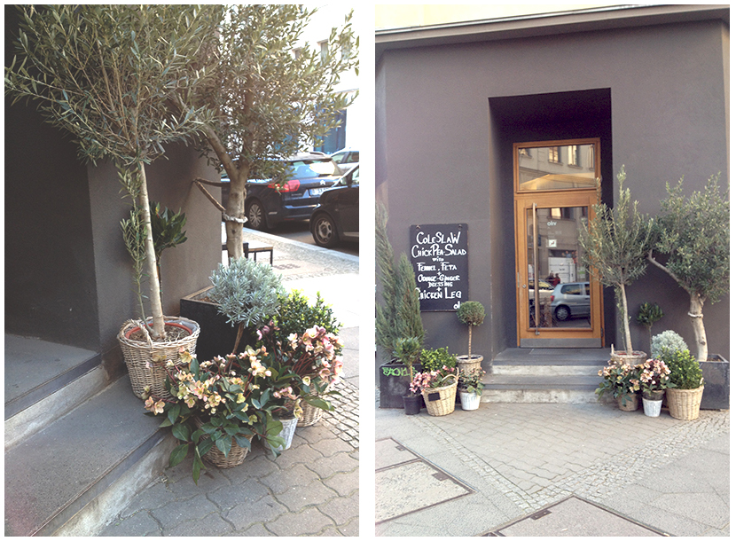 Plants and Outside - Cafe Oliv